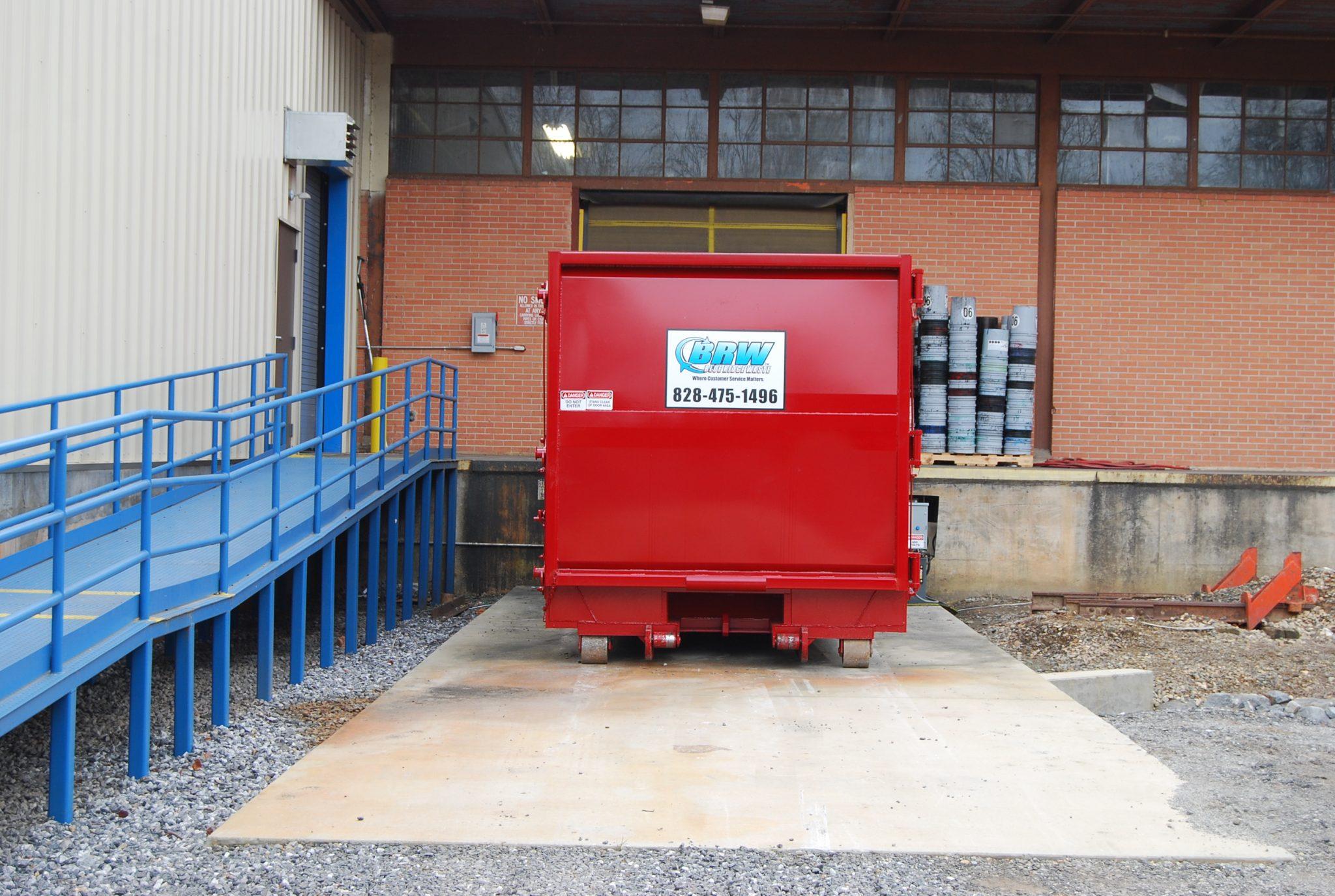 Industrial Waste Compactor