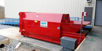 Manufacturing Waste Compactor